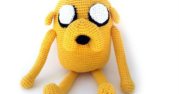 Jake the Dog from Adventure Time - Free Amigurumi Pattern - PDF