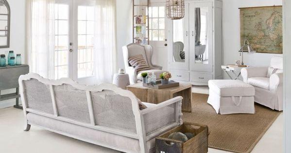 Salon Contemporain De Style Rustique En 55 Id Es