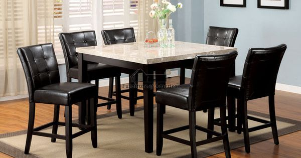 5Pc 7Pc 9Pc Marion Counter Height Dining Room Table Set
