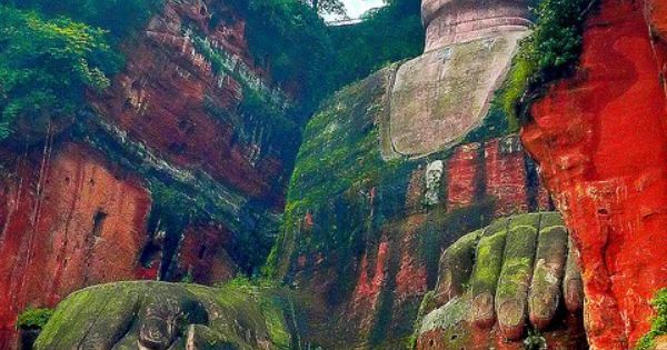 Leshan Giant Buddha, Sichuan, China It is the largest carved stone Buddha