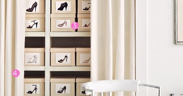 Dream shoe organization! OMG!