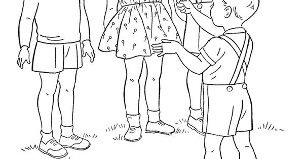 child singing coloring pages - photo#9