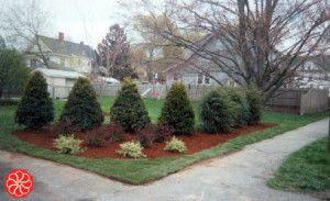 Feng Shui Landscaping For Corner Lots Trees Corner Landscaping Rustic Landscaping Front Yard Outdoor Landscape Design