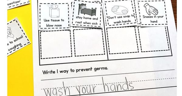 Wise Facts About Germs Poster School Nurse Office School Health