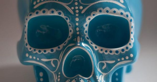 Nice simple but effective pattern to use on Day of the Dead