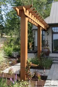 Beautiful Wooden Kitchen Table Project Outdoor Pergola Backyard Pergola Yard Design