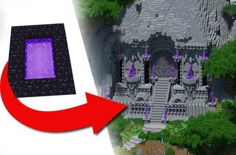 Transformation Into An Elven Warcraft Style Nether Portal