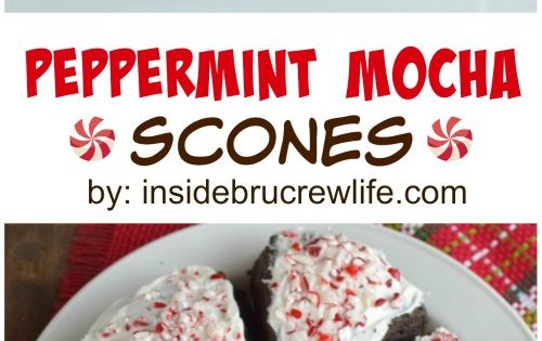 Chocolate scones, Scones and Peppermint on Pinterest
