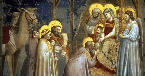 Giotto Visitation Of The Three Magi Christmas