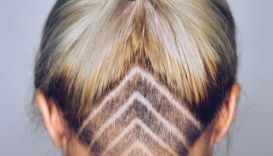 45 Breathtaking Short And Long Hairstyles For Women: 45 Undercut Hairstyles With Hair Tattoos For Women With