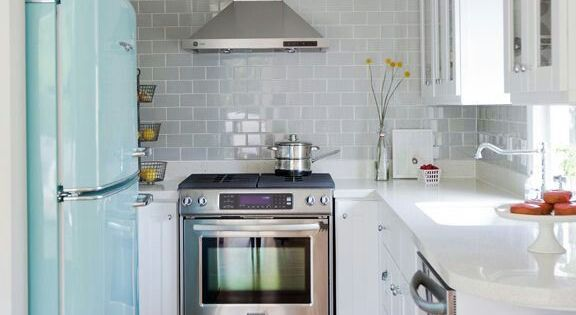 Brilliant Small Kitchen Design Idea ~ This is set up exactly like