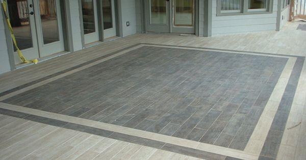 Tiled Porch Porch Tile House With Porch Back Porch Designs