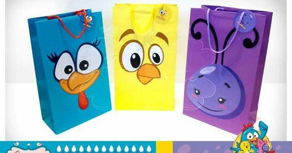 Fiesta gallina pintadita bolsas para sorpresas de los - Sorpresas para fiestas ...