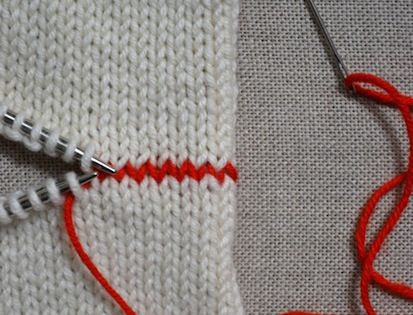 Knit Kitchener Stitch To Finish A Sock : How-To: Kitchener Stitch for Joining Seams in Knitting
