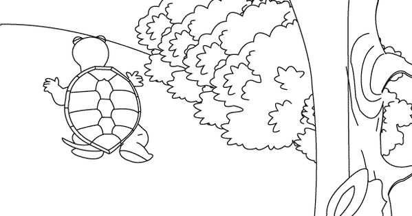 Tortoise coloring sheet at the zoo children 39 s ministry for Tortoise and the hare coloring page