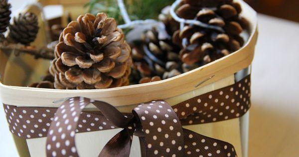 Familienjahr selbstgemachte weihnachtsgeschenke kaminanz nder zapfen anz nder pinterest - Pinterest weihnachtsgeschenke ...