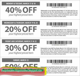 Free Printable Half Price Books Coupons Free Printable Coupons Price Book Printable Coupons