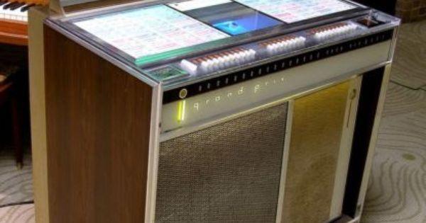 survivor 1964 rock ola rockola 425 grand prix jukebox juke box coin op mad men jukebox. Black Bedroom Furniture Sets. Home Design Ideas