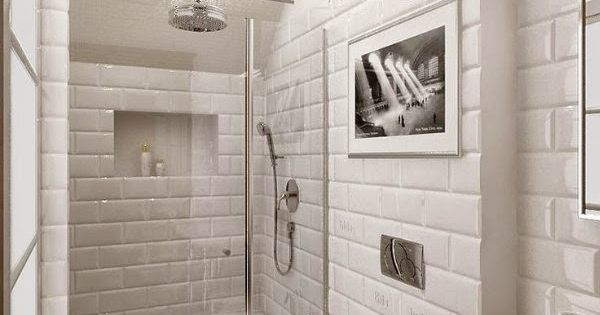 wunderkammer metro fliesen im badezimmer azulejos de metro en el ba o subway tiles. Black Bedroom Furniture Sets. Home Design Ideas