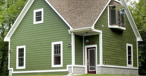 House Color Valspar 5007 4c Boughs Of Pine Exterior House Colors Pinterest House Colors
