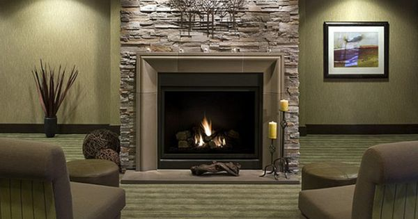 Living Room,Magnificent Decorations Interior Marvelous Stone Fireplace ...
