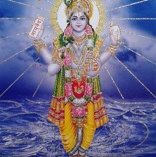Lord Dhanwantari Hindu Ayurveda God Poster Glitter Effect 8 5 X 11 Inch Hindu Statues Hindu Gods Hindu