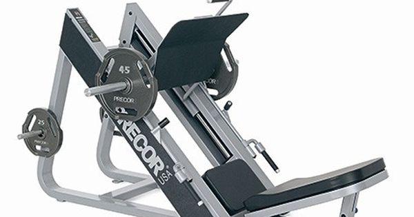 angled leg press machine