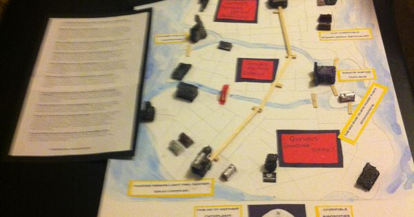 Gotham city as cell analogy project it got an a haley for Home architecture analogy