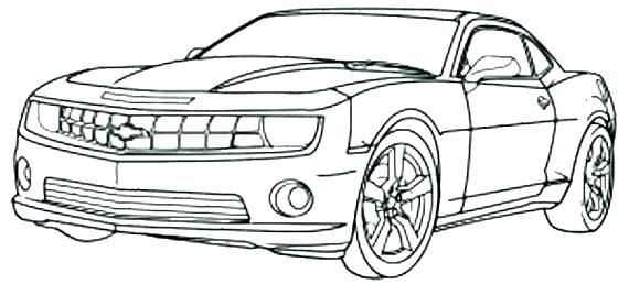 Car Coloring Pages Ideas For Kid And Teenager Cars Coloring Pages Camaro Car Race Car Coloring Pages