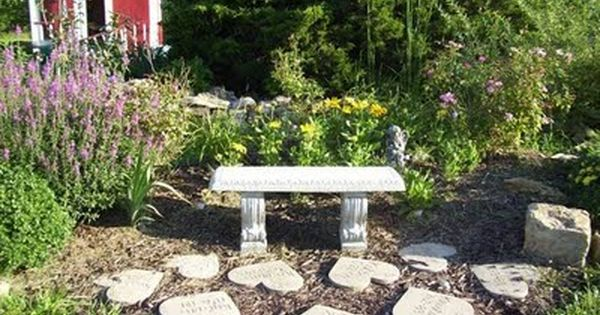 Be Nice To Put Our Loved Ones Name In The Hearts That Have Passed On Make A Memory Garden