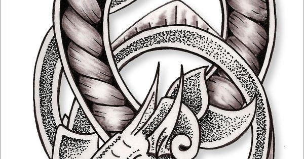 65894065e Celtic Dragon Knot By Kimmers Tattoos Deviantart – Dibujos Para Colorear