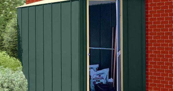 Cobertizos de metal para el jard n jard n y terrazas for Jardin 4x6 shed