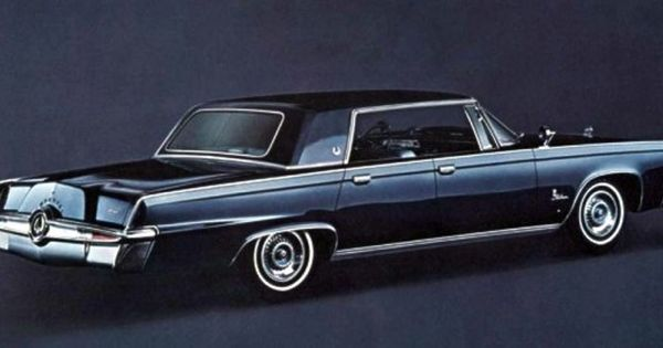 1964 Chrysler Imperial Lebaron Black Beauty In The Classic Tv