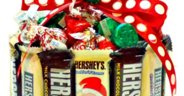Candy gifts holiday candy and cookie gifts on pinterest