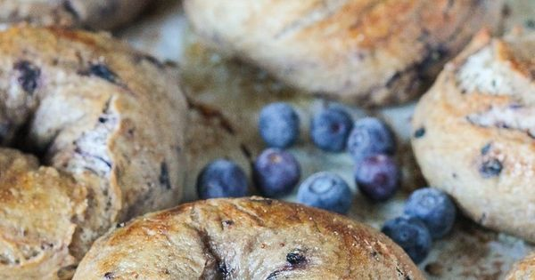 Blueberry Bagels | Recipe | See best ideas about Blueberry ...