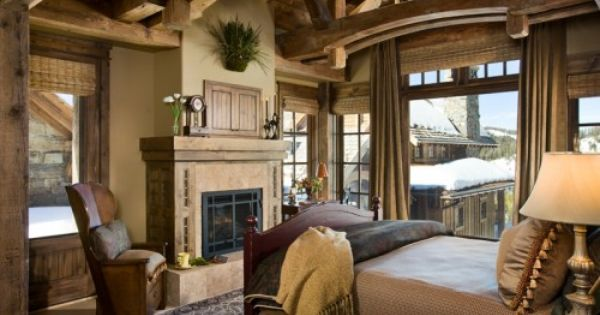 Master bedroom for my mountain home