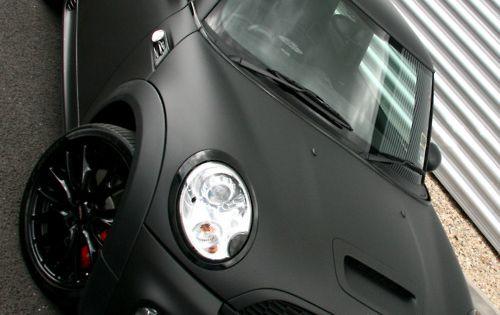 Matte Black MINI Cooper S mini dream car on prius