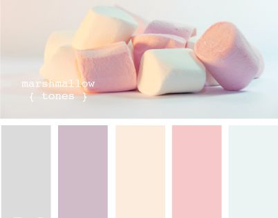 Colour inspiration...option 2 - marshmallow tones