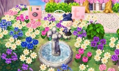 Animal Crossing Flower Garden Design Ideas Garden Ideas