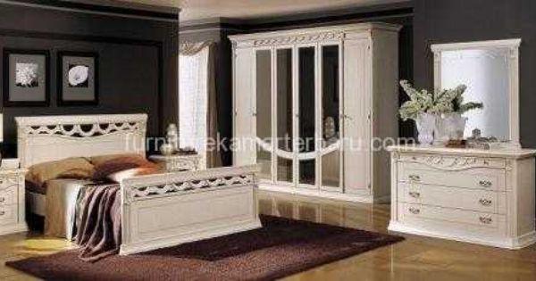 set kamar utama duco putih murah harga desain