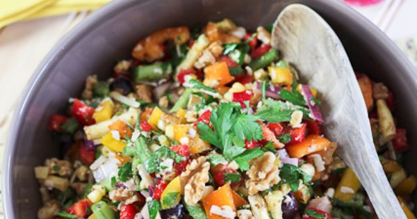 Full Spectrum Veggie Salad | Recipe | Veggies, Salad and Foodies