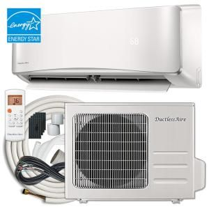 Mrcool Advantage 12 000 Btu 1 Ton Ductless Mini Split Air Conditioner And Heat Pump 230v 60 Hz A 12 Hp 230a Heat Pump System Heat Pump Air Conditioner With Heater