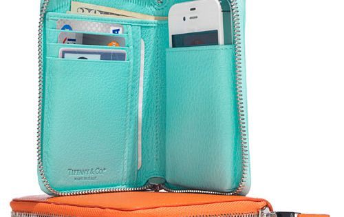 Tiffany smart zip wallet - All-in-one wallet that carries a cell phone,