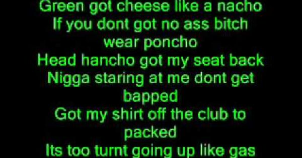 Been Stuck In My Head Allll Day Rack City Tyga Hahah Tyga Rack City Green Day Holiday Green Day
