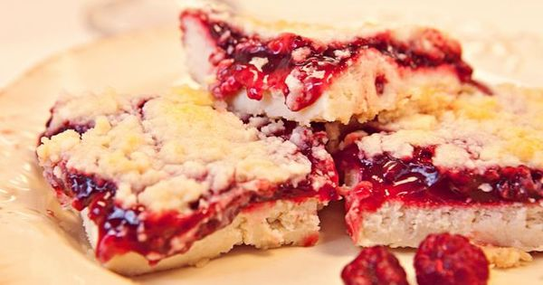 Super Yummy Raspberry Cheesecake Bars. Dessert bar contest winner.