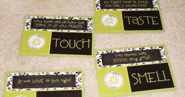 dating divas five senses 5 senses gift- cute idea i saw that the dating divas site even has printables to go with each gift so all you have to do is print and cut done.