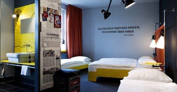 hostel superbude st pauli hostel interiors design. Black Bedroom Furniture Sets. Home Design Ideas