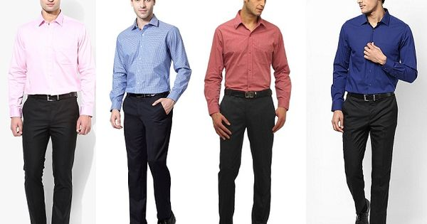 Men 39 s guide to perfect pant shirt combination color for Shirt and pants color combinations