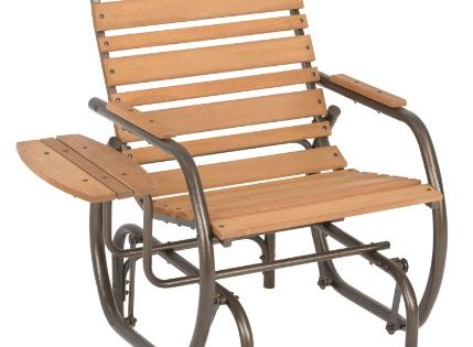 Jack Post Cg 21z Country Garden Glider Chair With Tray