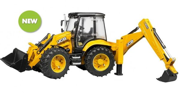 Bruder Construction Toys For Boys : New scale jcb cx backhoe loader digger from bruder